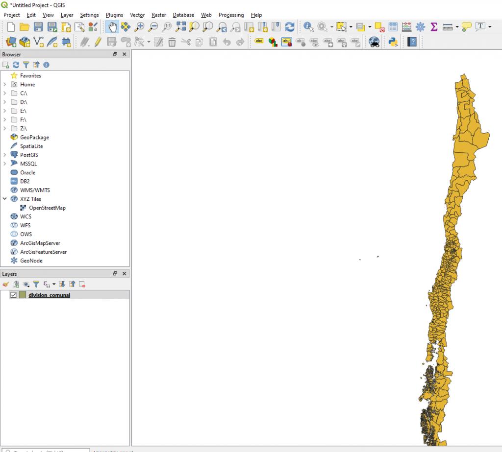 Geocoding reverso de comunas/regiones con SQL Server